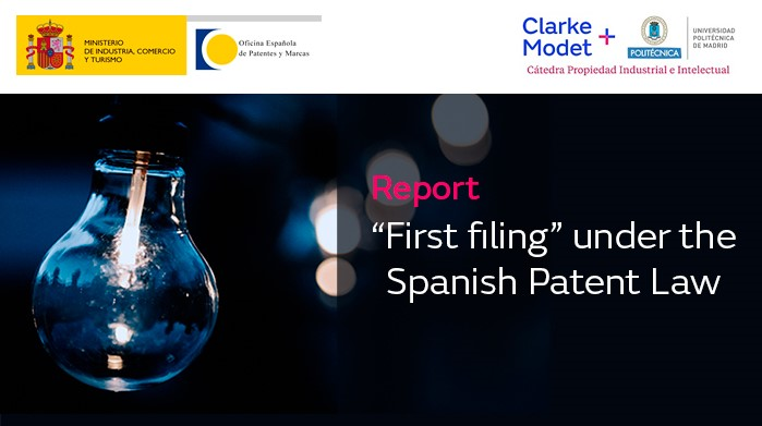 Get the report: First filing in the Spanish Patent Law