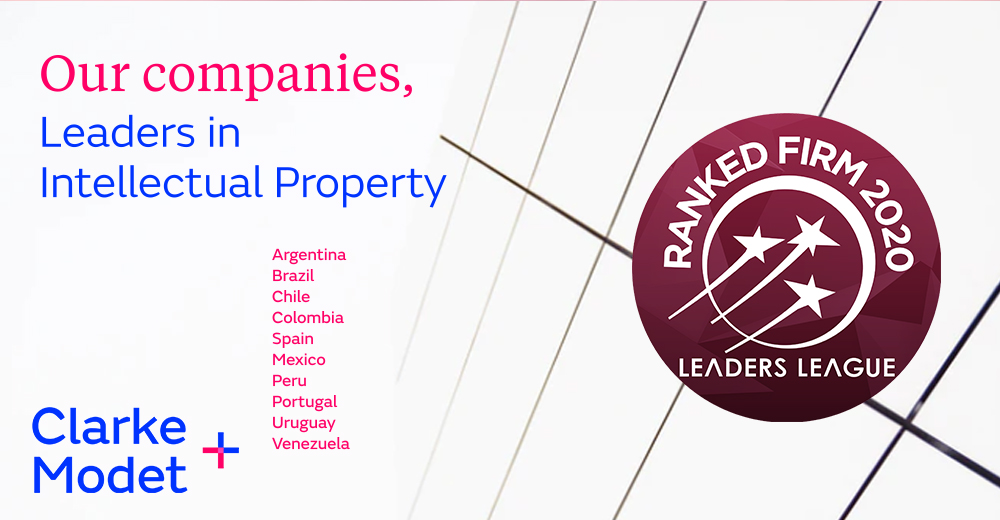 Leaders League distinguishes ClarkeModet in the IP rankings 2020
