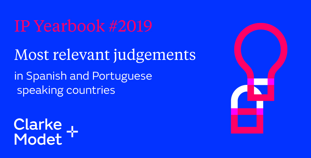 Get our judgement yearbook: The most relevant decisions on Intellectual Property of 2019