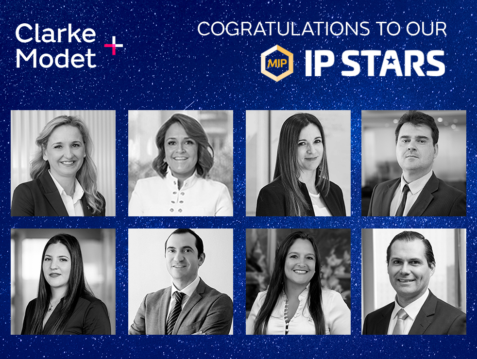 ClarkeModet, ranked firm by IP STARS 2021